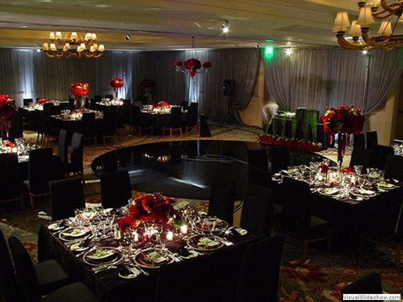 Black Dance Floor Rentals Los Angeles