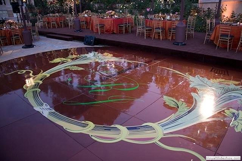 Bronze Dance Floor Rentals Los Angeles