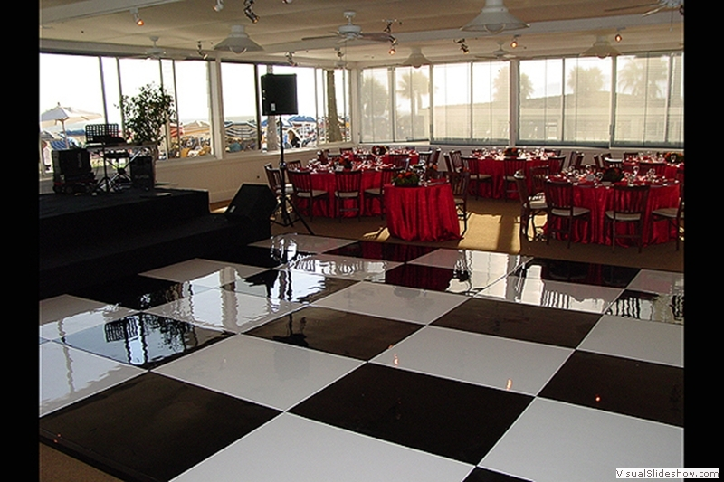 Checkered Dance Floor Rentals Los Angeles