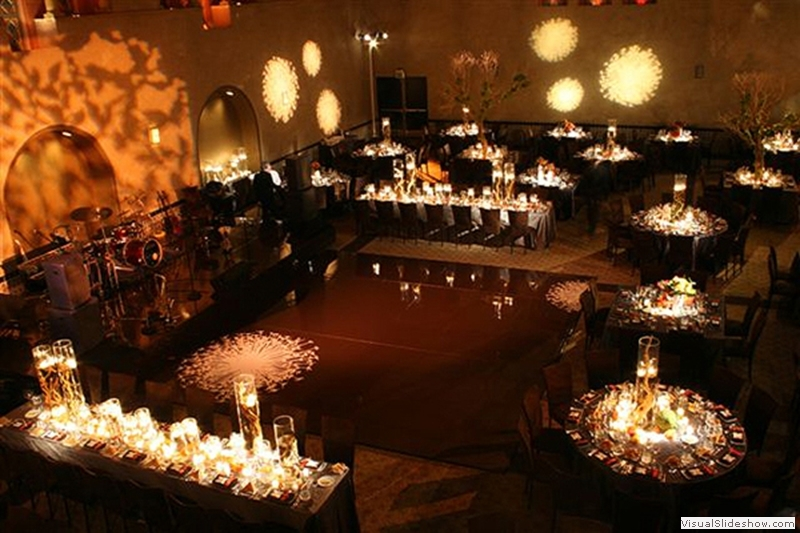 Chocolate Brown Dance Floor Rentals