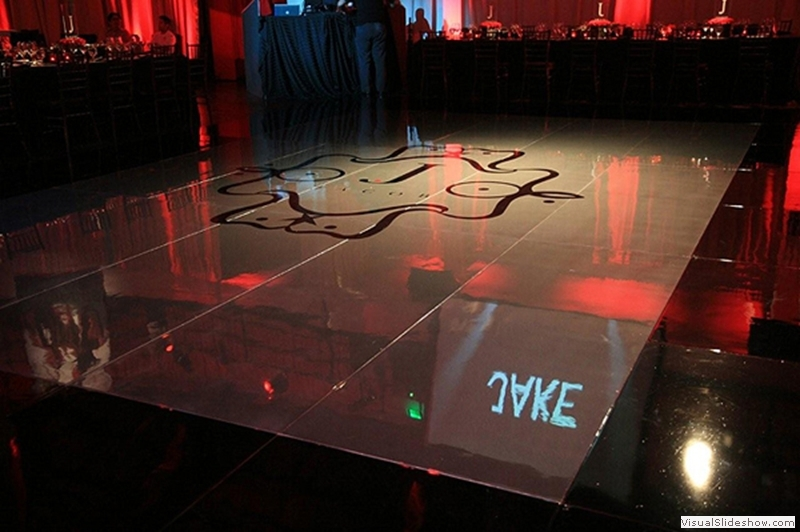 Grey Dance Floor Rentals
