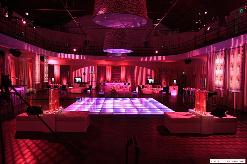 Illuminated Dance Floor Rentals
