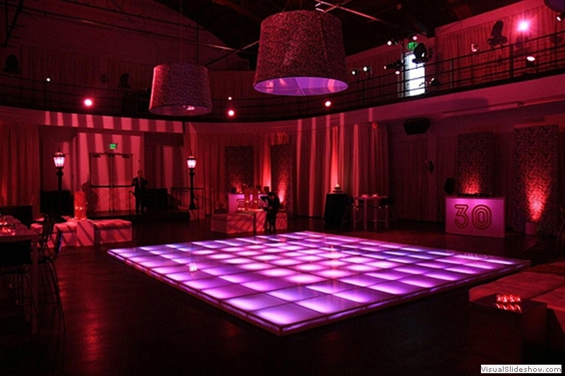 Illuminated Dance Floors