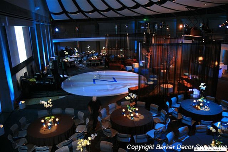 Round White Dance Floor Rentals