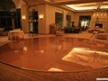 Gold dance Floor Rentals